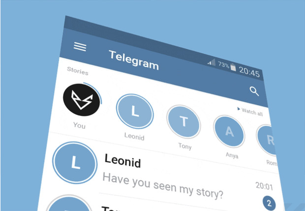 Фото №1 - СМИ: после видеозвонков в Telegram могут появиться сторис