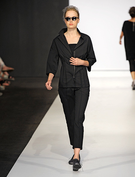 Модели на показе Annette Gortz весна–лето 2015