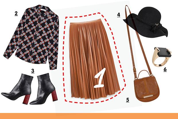 Фото №5 - С чем носить плиссированную юбку