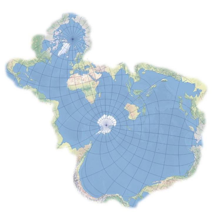 Фото №2 - Как бы выглядела карта мира с точки зрения рыб