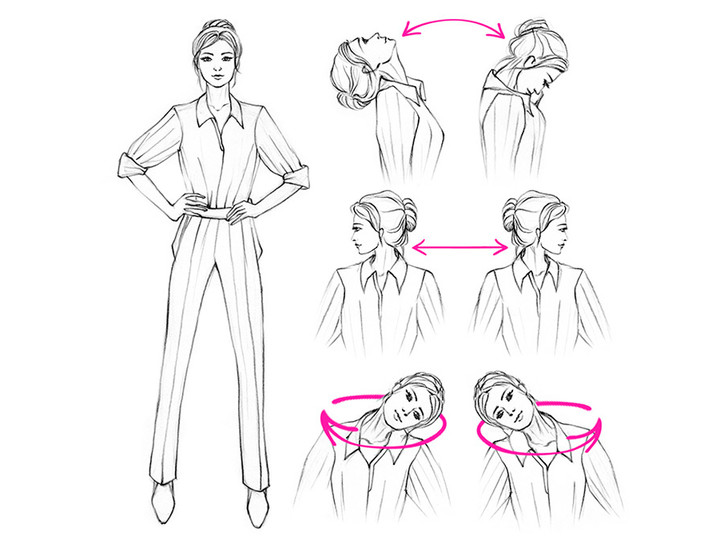 Фото №2 - 5 упражнений, которые можно делать в офисном кресле (или рядом с ним)