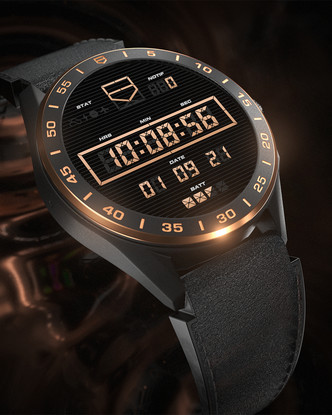 Фото №4 - Роскошь золота: как выглядят новые смарт-часы TAG Heuer Connected