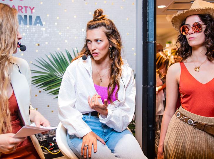 Фото №1 - Как прошла вечеринка Calzedonia: бьюти-правила Регины Тодоренко и пляжные образы от стилиста