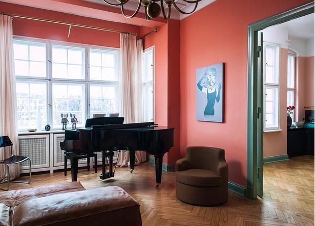 Фото №4 - Маленькая квартира с ярким характером в Берлине