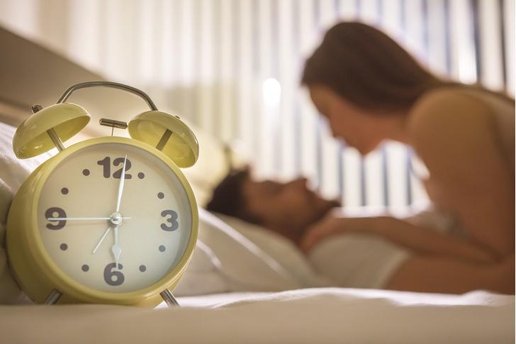 Фото №1 - Ученые назвали лучшее время суток для секса