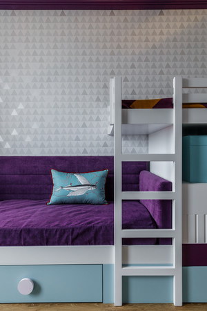 Фото №12 - Всплеск цвета: яркая квартира 81,6 м²