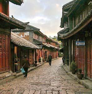 Фото №1 - Древний город Лицзян отмечен премией ЮНЕСКО