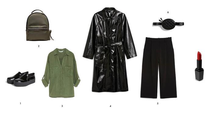 Фото №3 - Как носить кюлоты и выглядеть круто? 3 стильных образа