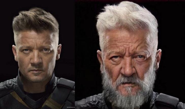 Фото №5 - Как выглядели бы «Мстители» в старости