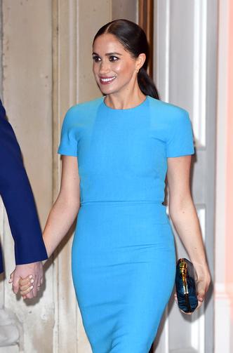 Фото №8 - Прощай, Корона: лучшие образы герцогини Меган в 2020 году