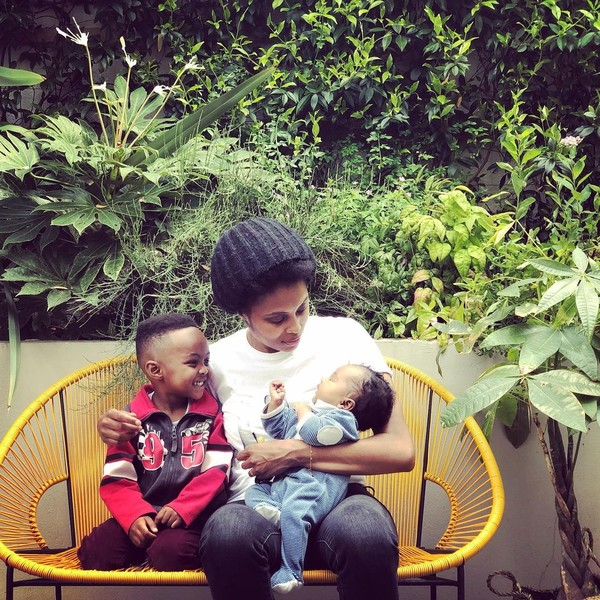 Imany с детьми, инстаграм