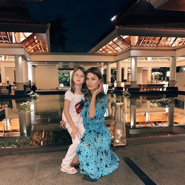 Виктория Боня и ее дочь Анджелина