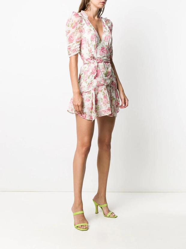 Фото №3 - 15 цветочных розовых платьев как у Селены Гомес в новом видео De Una Vez