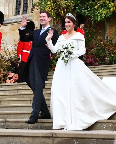 Фото №67 - Свадьба принцессы Евгении и Джека Бруксбэнка