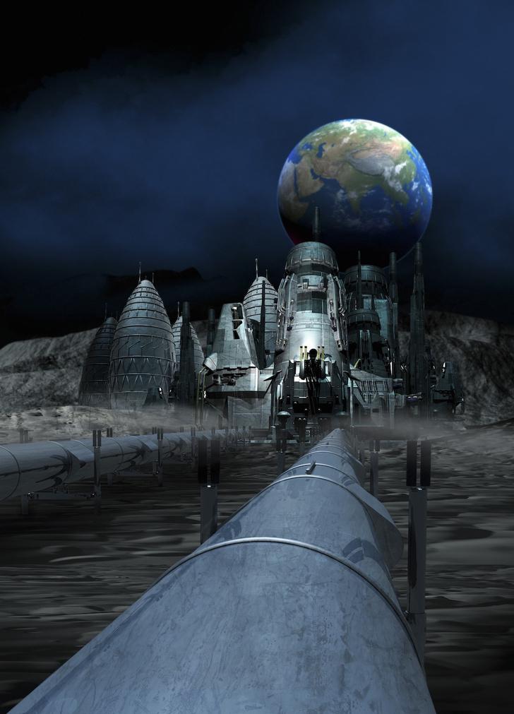 Фото №4 - До Луны и обратно: к вопросу о колонизации спутника Земли