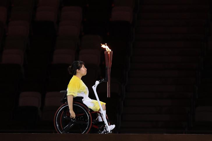 Фото №1 - Паралимпийский огонь