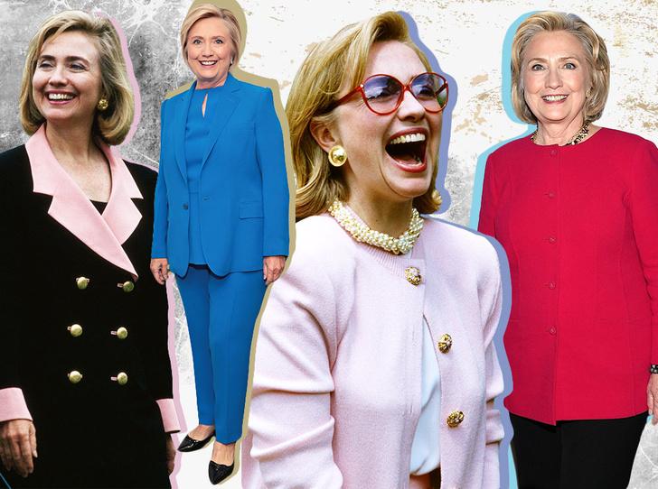 Фото №1 - Брючные костюмы и яркие цвета: модные победы Хиллари Клинтон