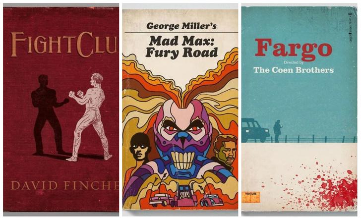 Фото №1 - Если бы фильмы были книгами: 22 фантазии в стиле книжных ретрообложек