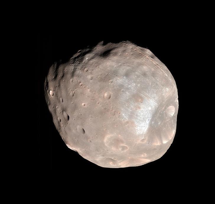 Фото №1 - У Марса могут появиться кольца