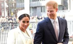Меган и принц Гарри показали малыша и рассекретили его имя