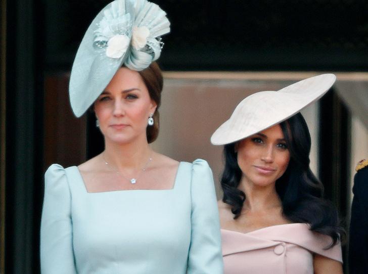 Фото №2 - Меган или Кейт: у кого первый год в королевской семье окажется легче (в итоге)