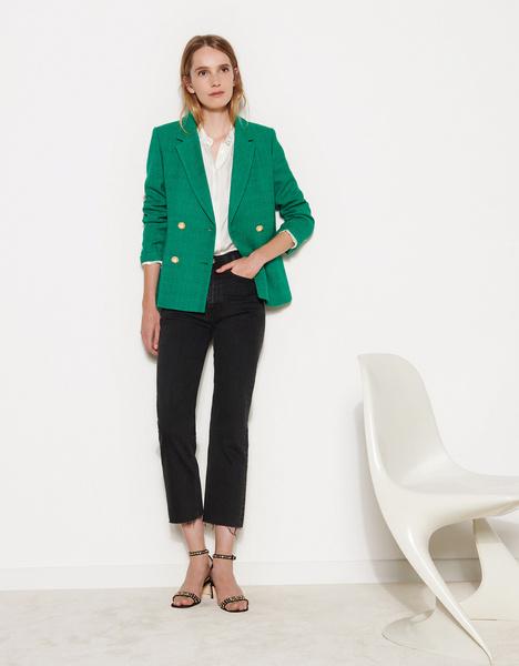 Фото №16 - Как носить пиджак— секреты французских модниц
