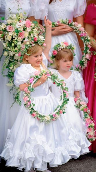 Фото №6 - Самые важные гости: маленькие Виндзоры на королевских свадьбах