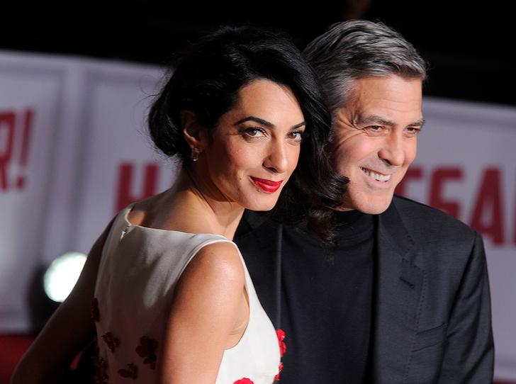 Фото №2 - Близнецы в квадрате: чего ждать Джорджу и Амаль Клуни от своих детей