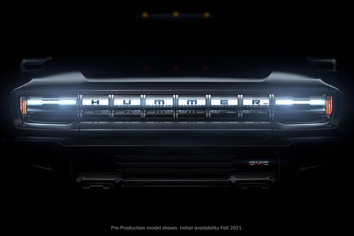 Фото №1 - Hummer возвращается с 1000-сильным электромобилем
