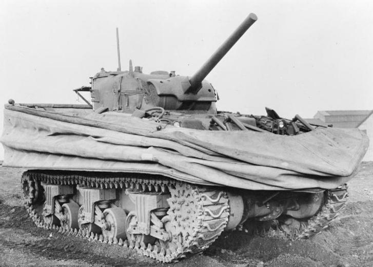 Фото №2 - «Они утонули…»: чудо-танки союзников для высадки в Нормандии
