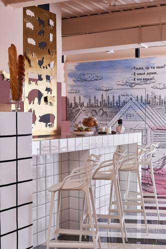Фото №6 - Корпоративное кафе в историческом центре Томска