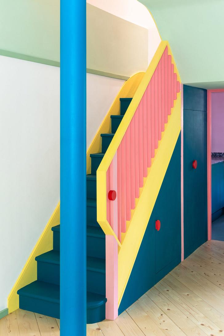Фото №6 - Color Blocking: яркий дом в Лондоне