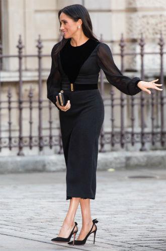 Фото №5 - Почему герцогиня Меган пристрастилась к черному