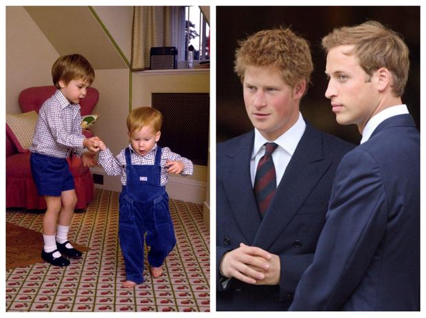 Фото №1 - 15 трогательных фото, доказывающих, что Уильям и Гарри были действительно близки