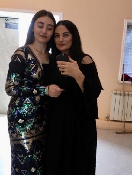 Патимат с мамой