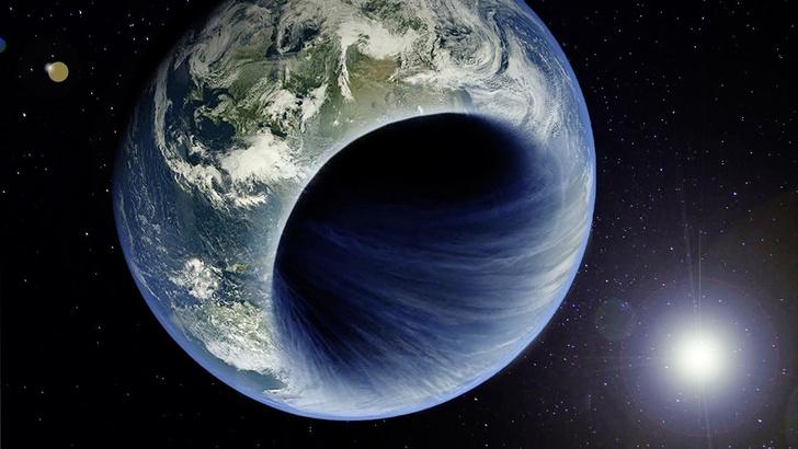 Фото №1 - Если бы Земля превратилась в Черную дыру, что изменилось бы в динамике Солнечной системы?