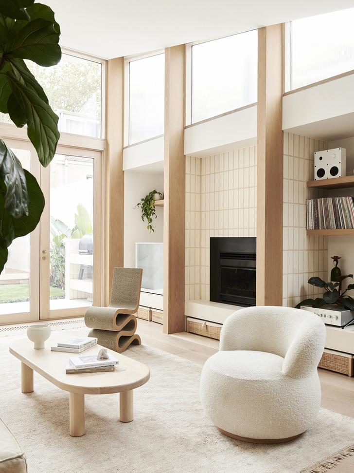 Фото №4 - Дом в пастельных тонах в Мельбурне