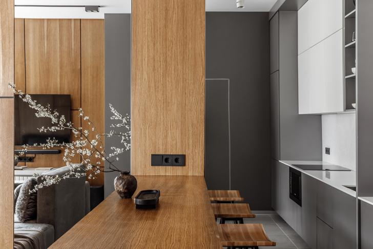 Фото №6 - Квартира-студия 33 м² с угловым окном в Геленджике
