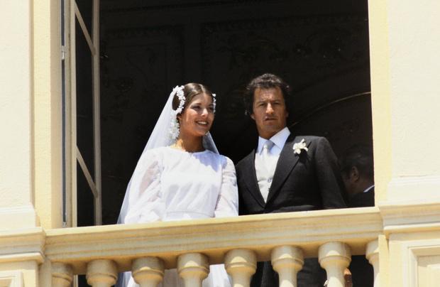Принцесса Монако Каролина и Филипп Жюно