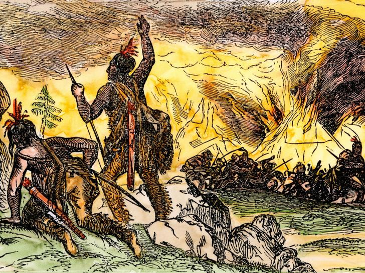 Фото №14 - Загадка Роанока: что случилось с колонией, бесследно изчезнувшей более 400 лет назад