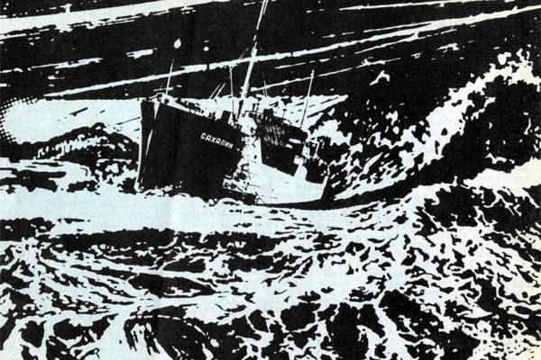 Фото №1 - Корабли шли без огней