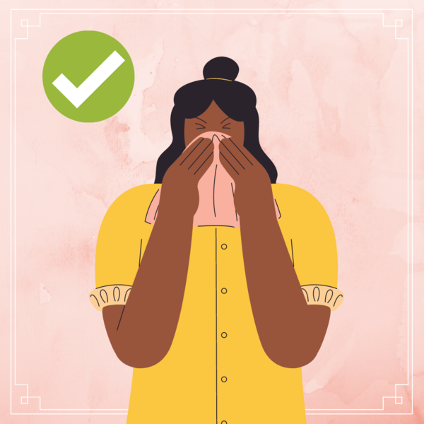 Фото №2 - Ты же леди: как правильно чихать и кашлять, чтобы никого не заразить