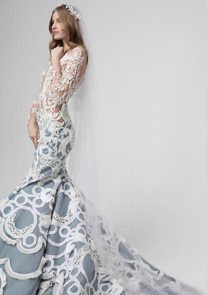 Фото №5 - Новая свадебная коллекция Valentin Yudashkin haute couture