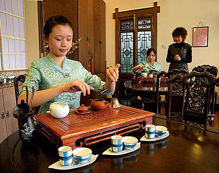Фото №1 - Чайная шкатулка