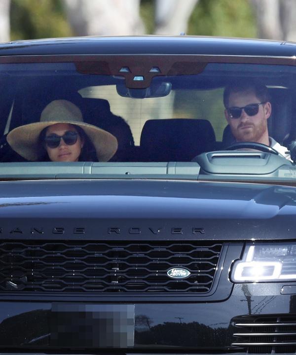 Меган Маркл и принц Гарри в непривычном амплуа рядовых американцев