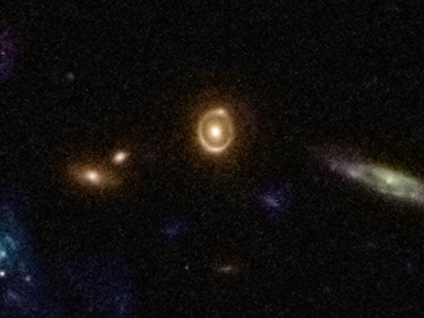 Фото №5 - Темная материя гравитационной линзы
