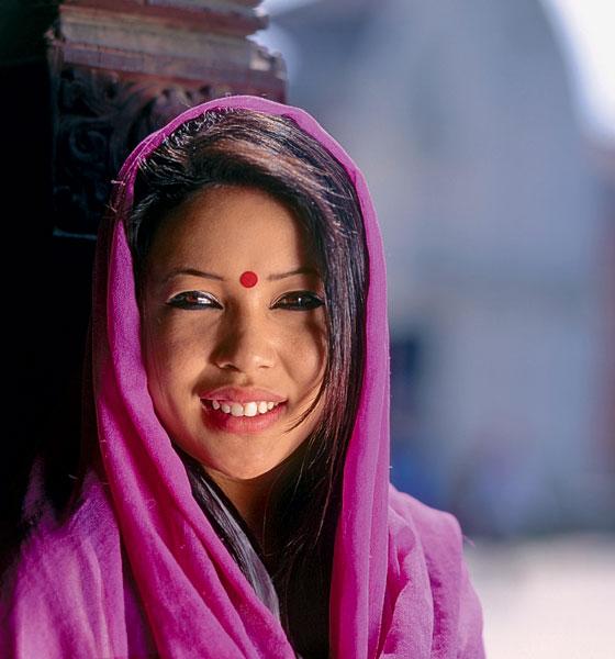 Фото №1 - Мисс мира: Непал. Невеста дерева