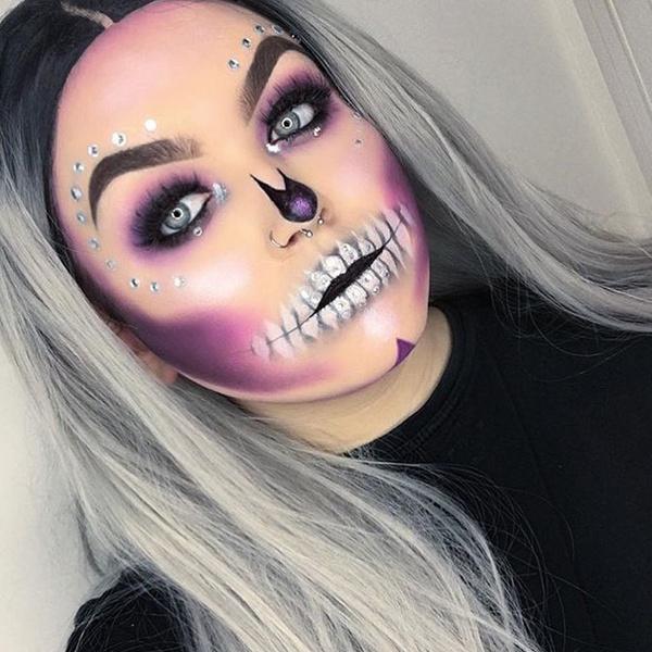 Фото №42 - 25 идей, как раскраситься на Хэллоуин