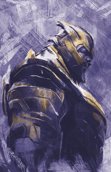 Фото №11 - Новые промо-арты к «Мстителям: Финал»: обновленный Клинт Бартон, Танос, перчатка и многое другое