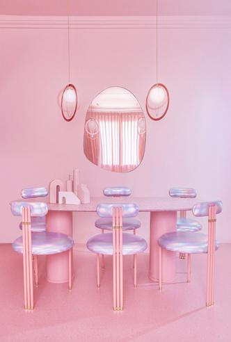 Фото №6 - Розовая квартира в центре Мадрида